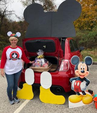 Trunker at 2019 Trunk or Treat event
