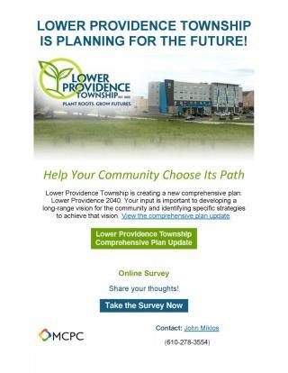 Comprehensive Plan Survey Flyer