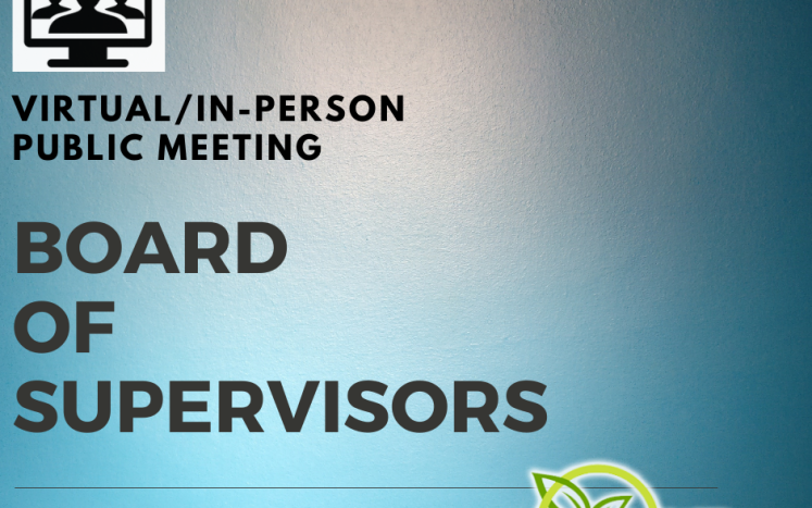 Board of Supervisors Meeting October 21, 2021