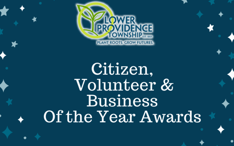 Citizen, Volunteer & Business of the Year Awards graphic